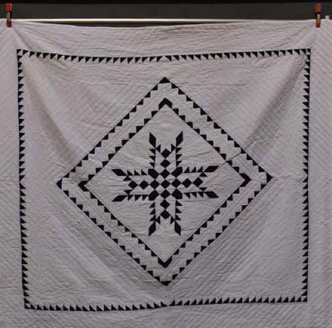 Handstitched Amish quilt