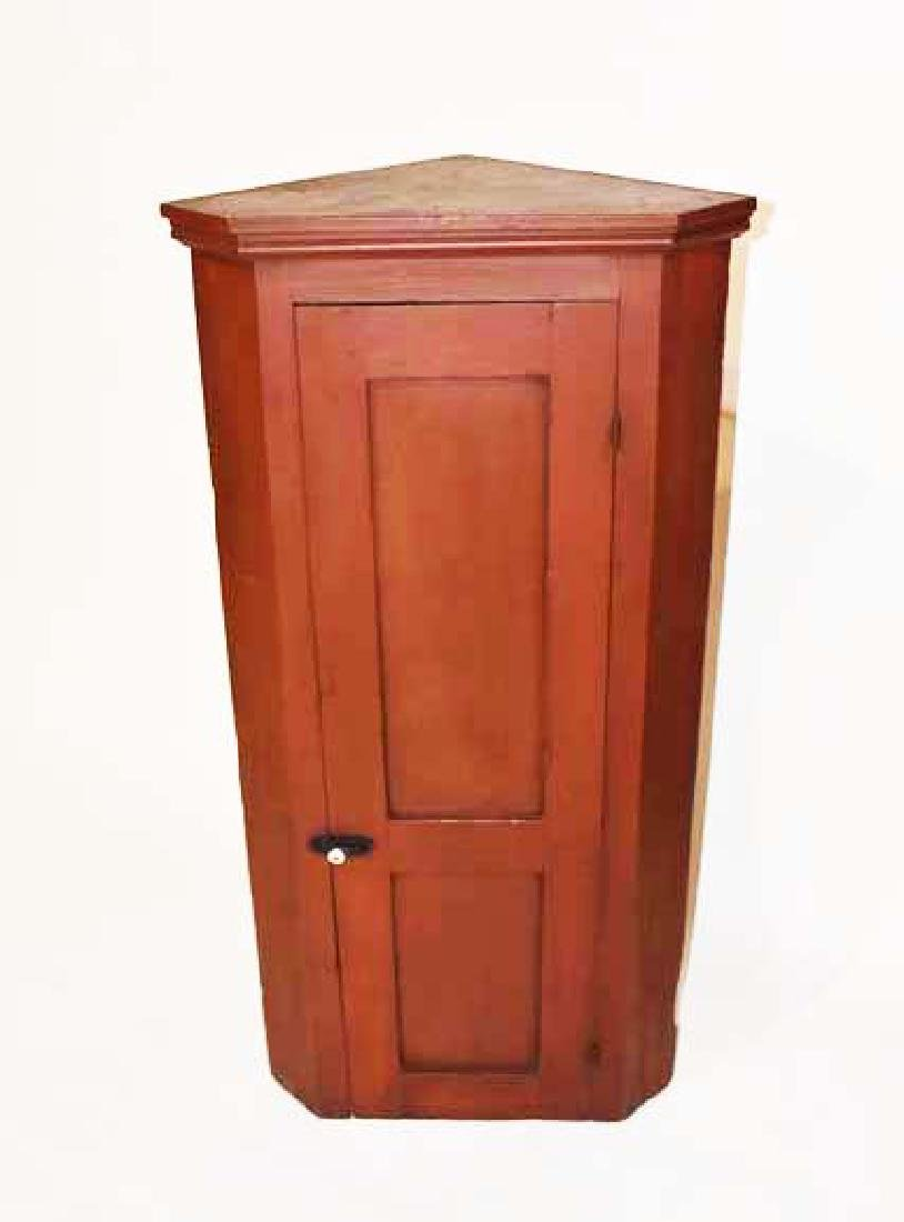Blind door corner cupboard