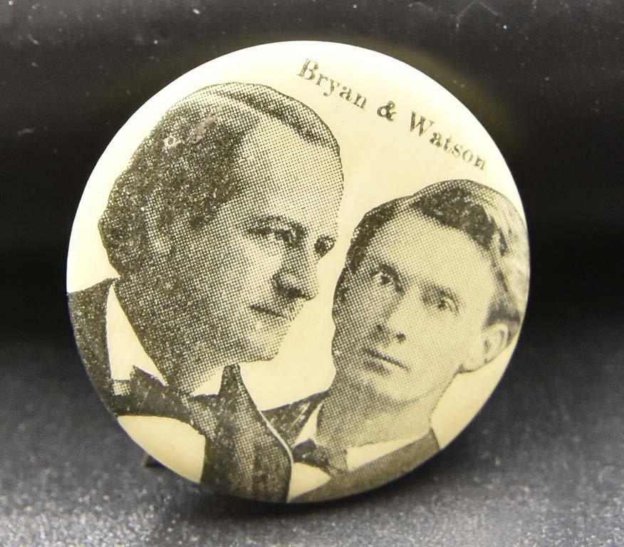 30 vintage political pins john bell etc - 3
