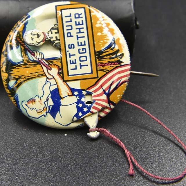 30 vintage political pins john bell etc - 5