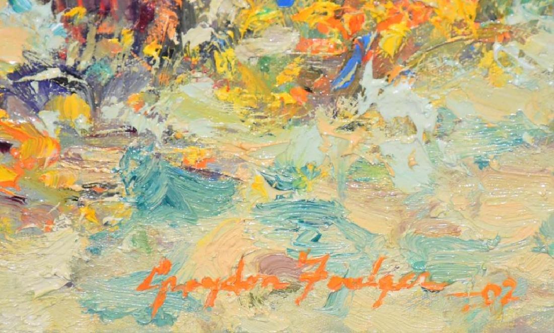 Oil on canvas signed Graydon Foulger - 2
