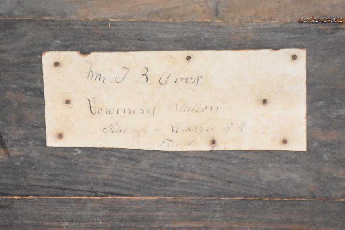 Unusual oak 2 piece corner bench - 3