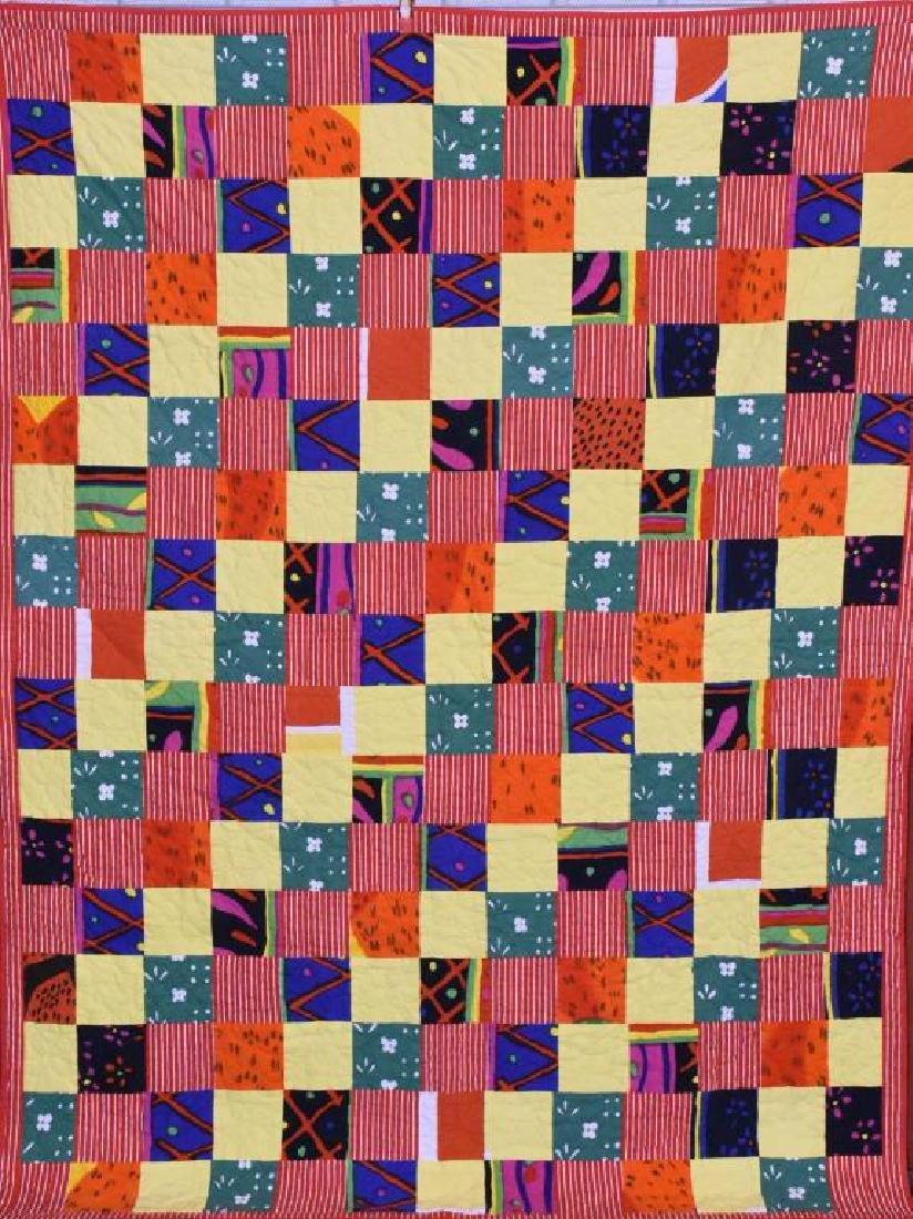 Hand stitch Amish quilt