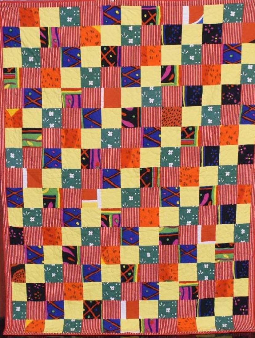 Hand stitch Amish quilt - 2