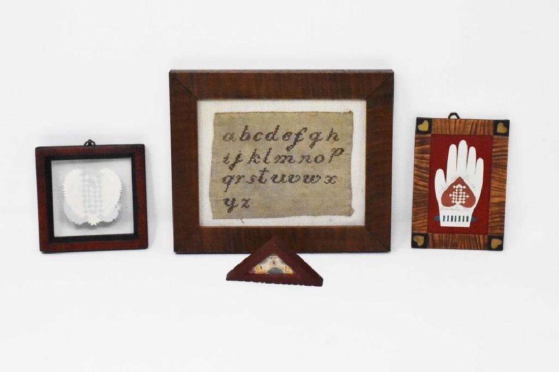 4 framed items