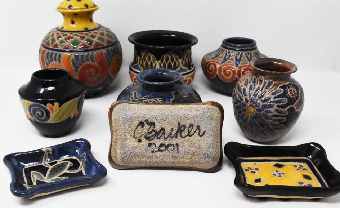 9 pieces of Cathra-Anne Barker Ceramics - 2