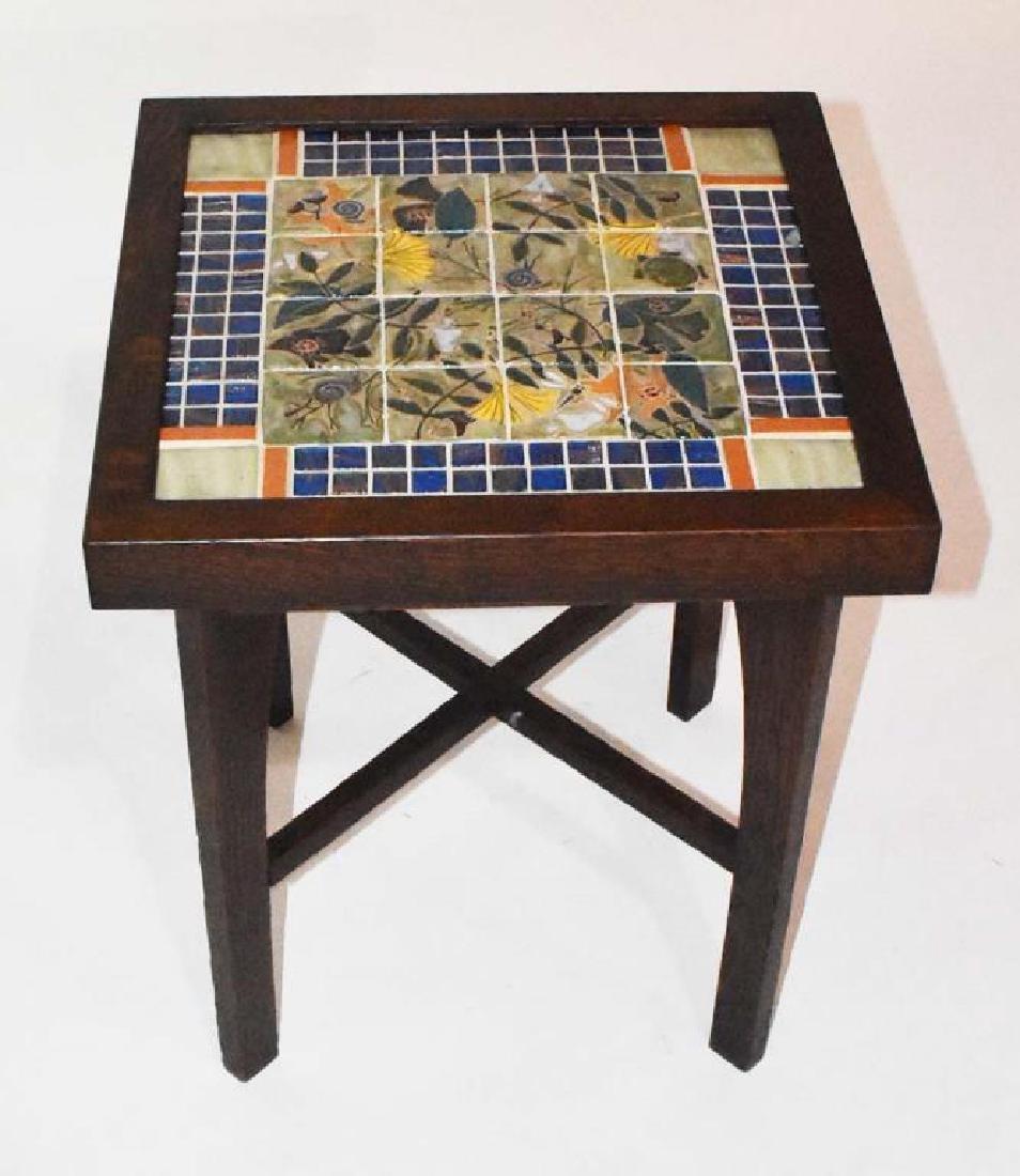 Cathra-Anne Barker tile top table