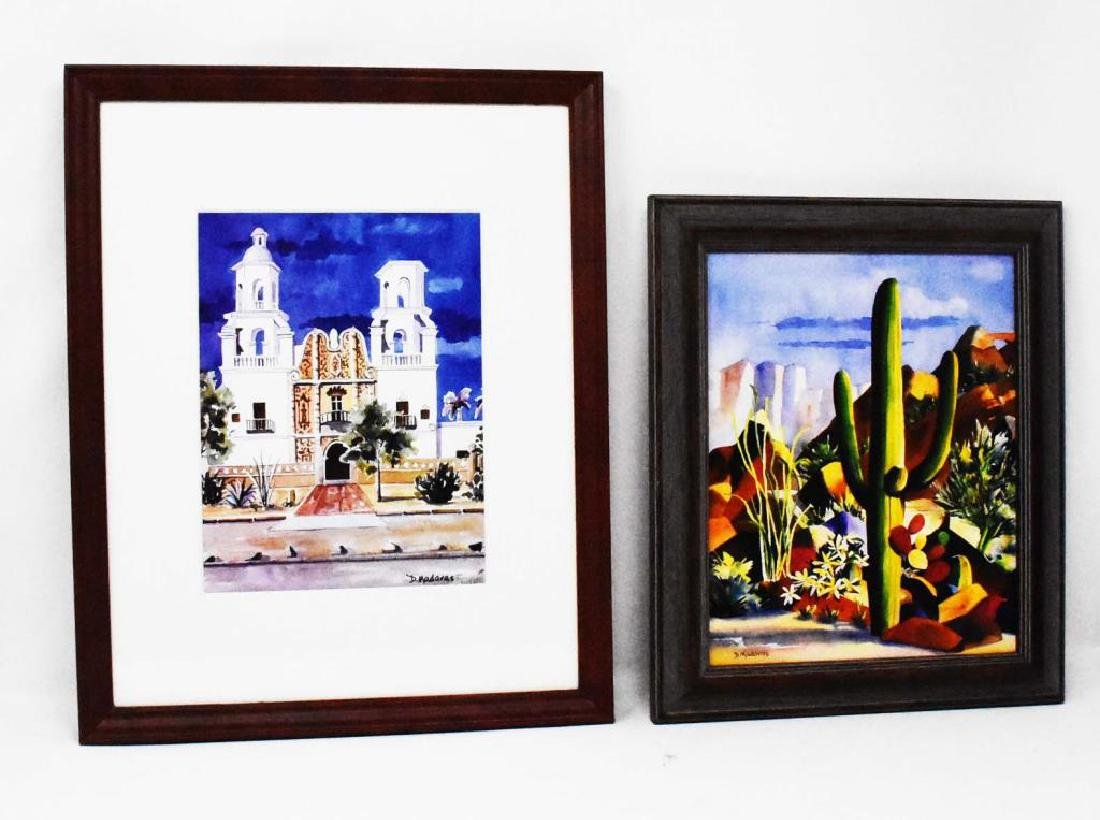 2 pieces of artwork