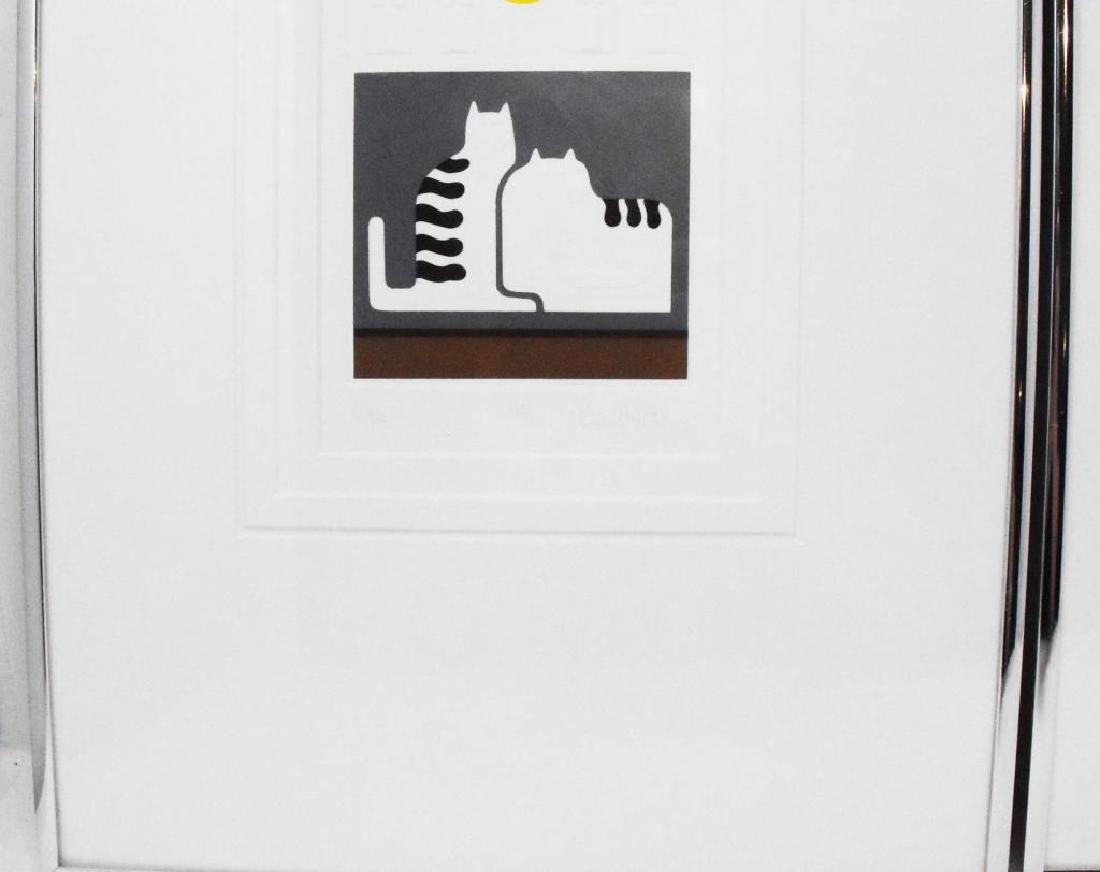2 pieces of artwork signed Christina Parrett - 2