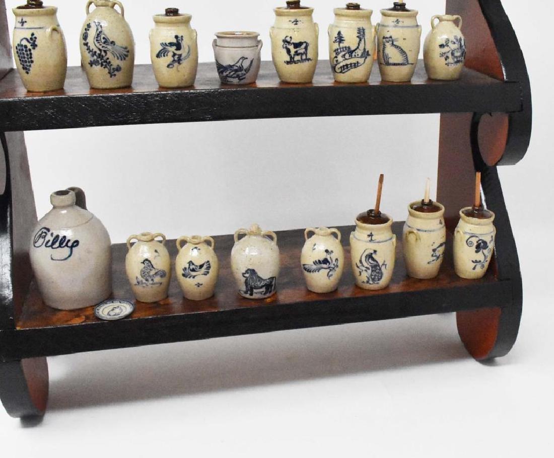 Hanging set of shelves - 2