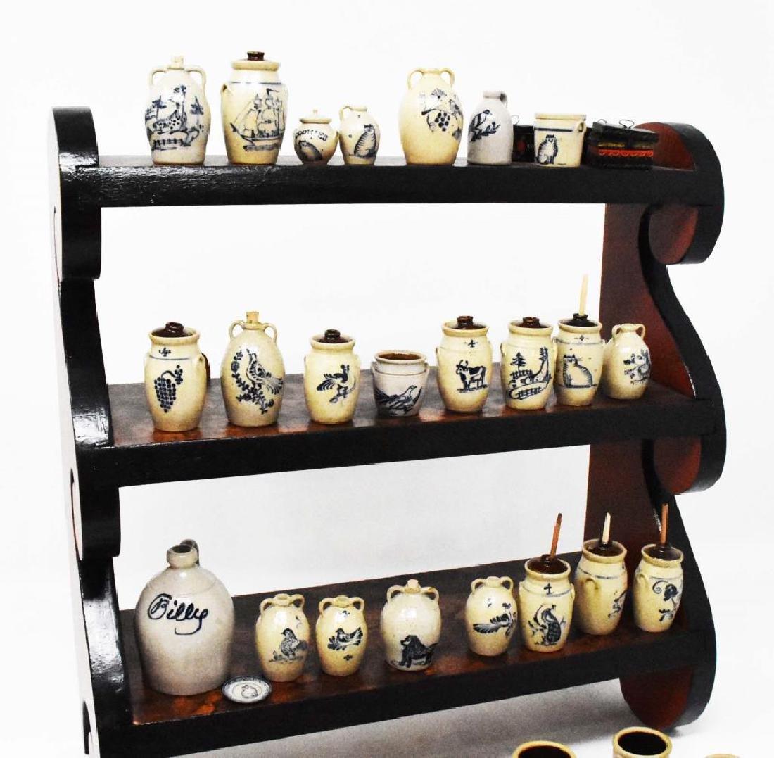 Hanging set of shelves - 6