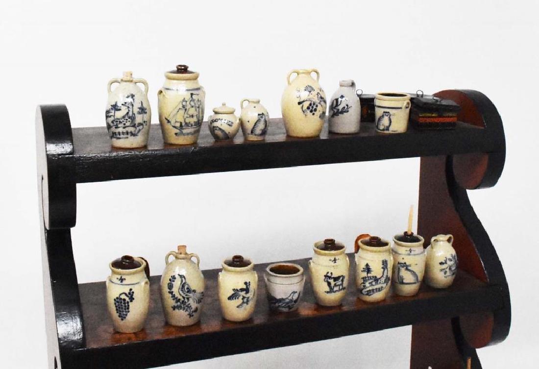 Hanging set of shelves - 7