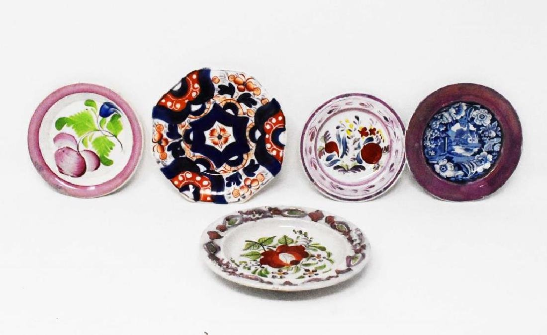 5 early cup plates