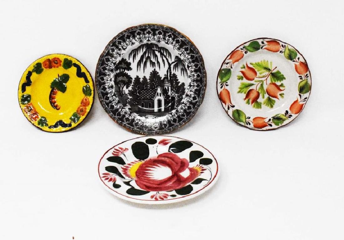4 early cup plates
