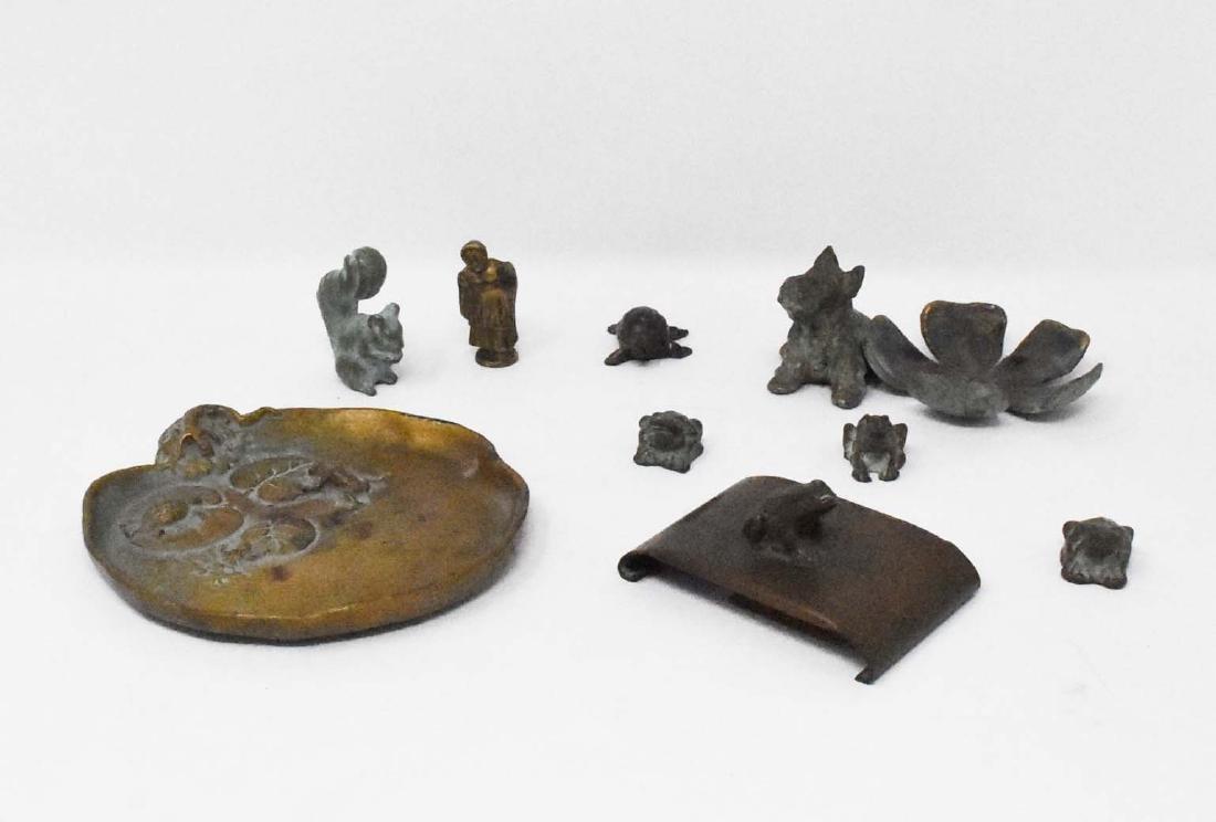 9 Bronze McClelland Barclay Pieces