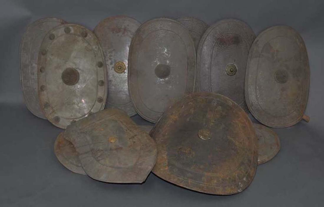 11 IOOF Metal Shields