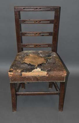 1700's Walnut Chippendale Chair