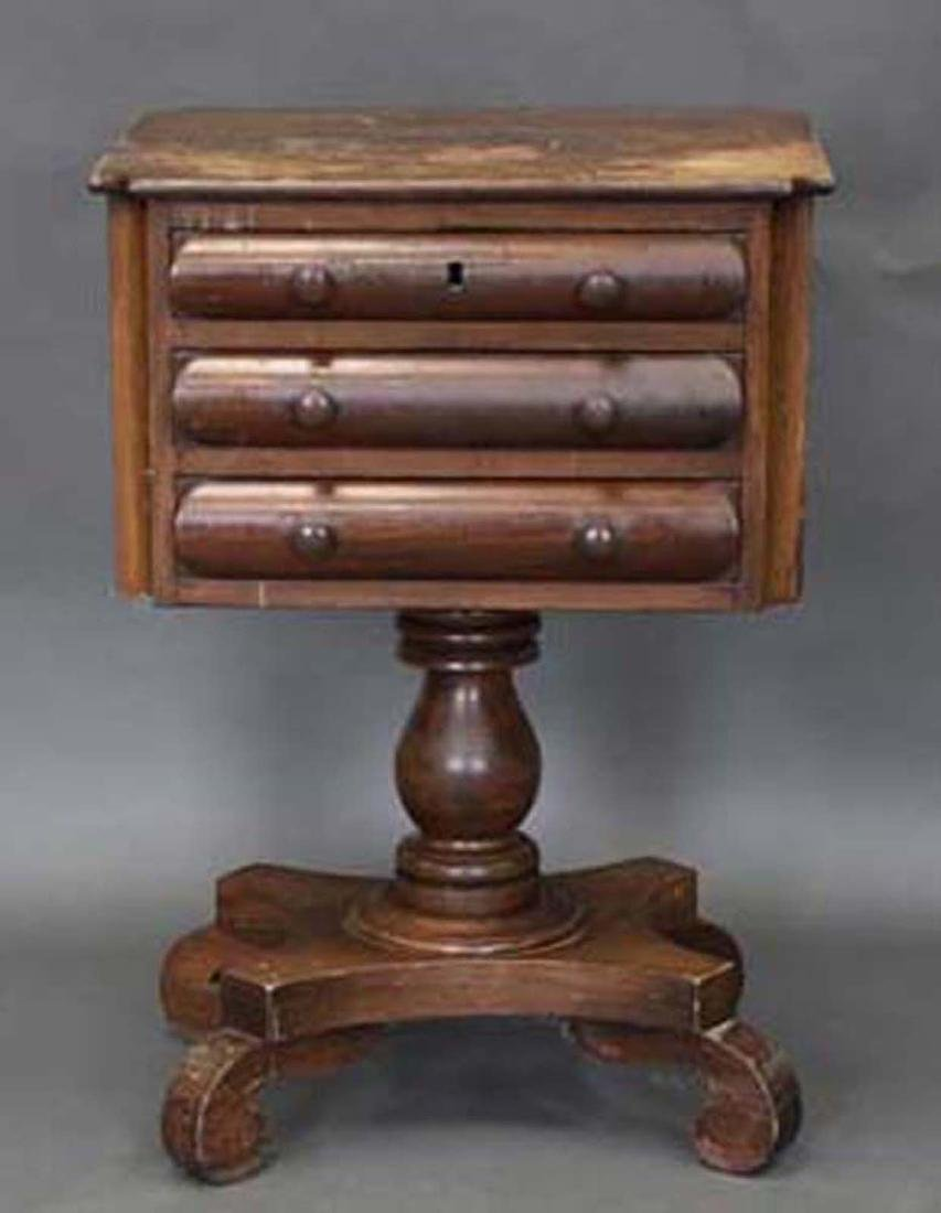 Early American Empire Work Table