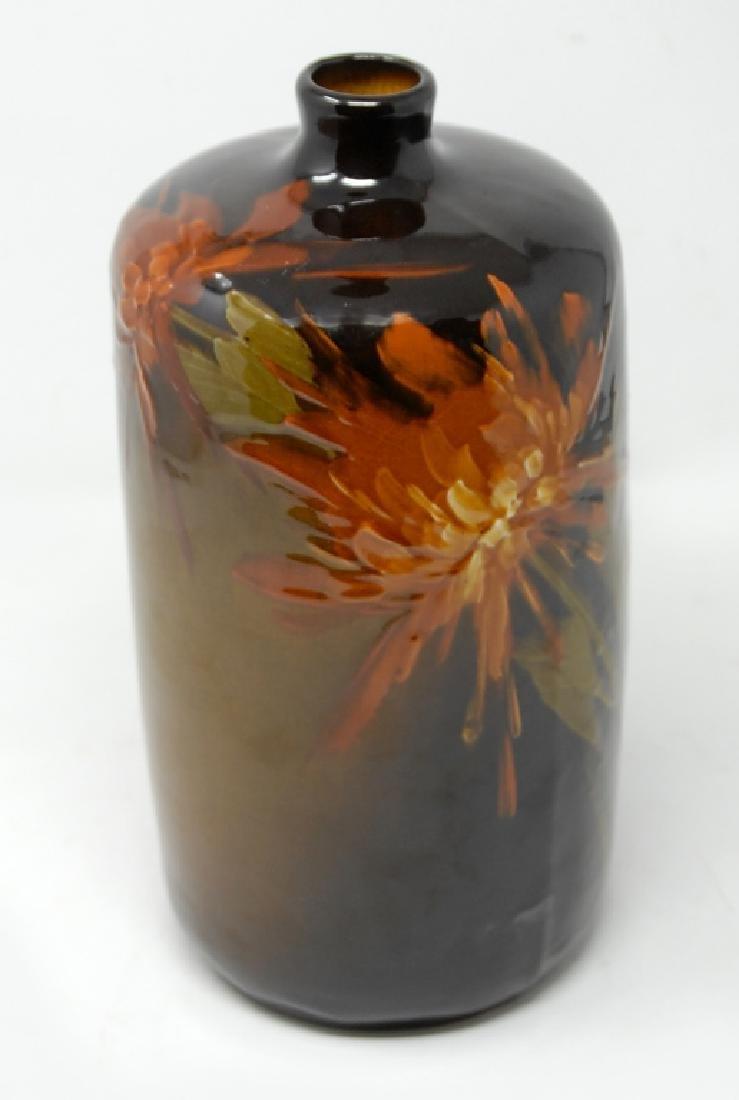 Owens Floral Art Pottery Vase