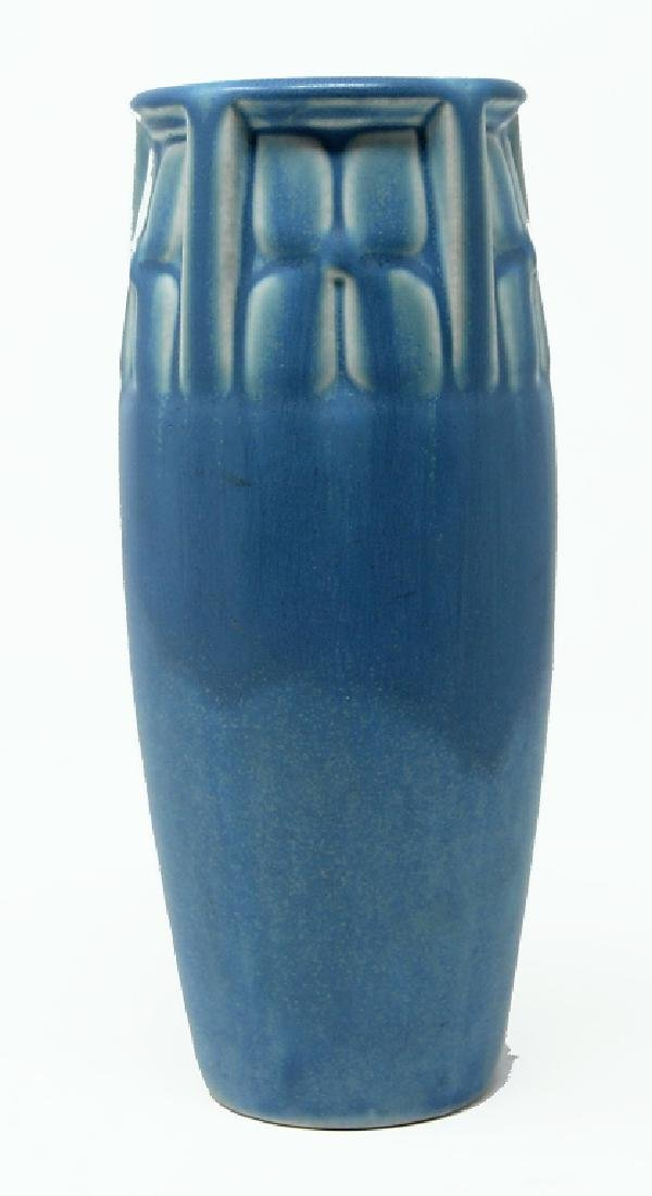 1929 Rookwood Matte Blue Vase