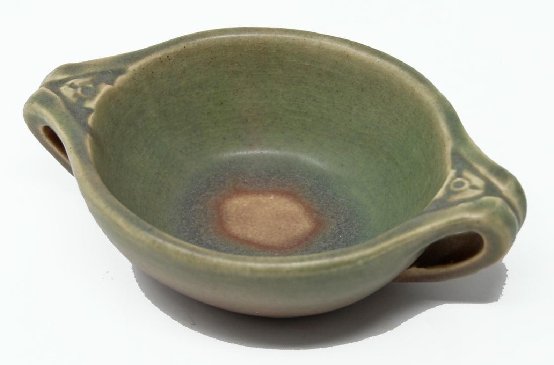 1912 RookwoodArts Crafts Two Handled Bowl
