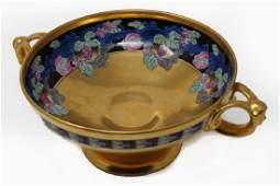 Art Deco Figural Picard Porcelain Artist Signed Bowl