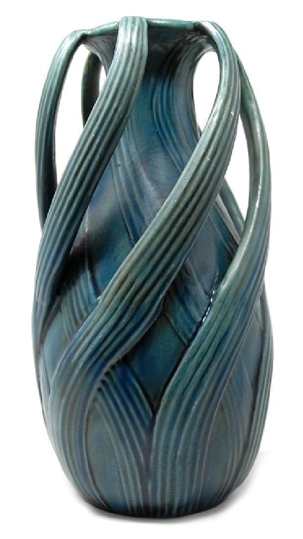 Teco Arts Crafts Pottery Vase