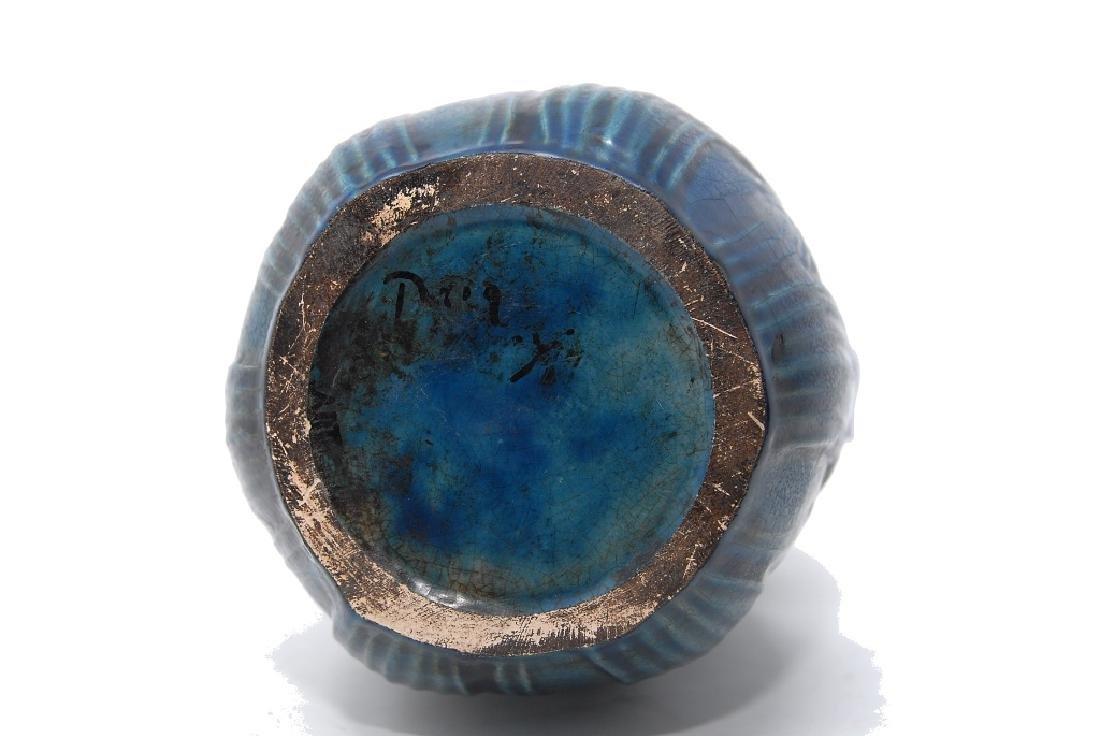 Teco Arts Crafts Pottery Vase - 3