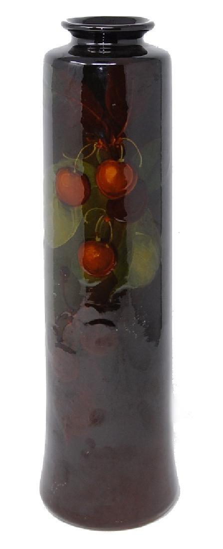 """Weller Louwelsa Vase With Cherries 14.5"""""""