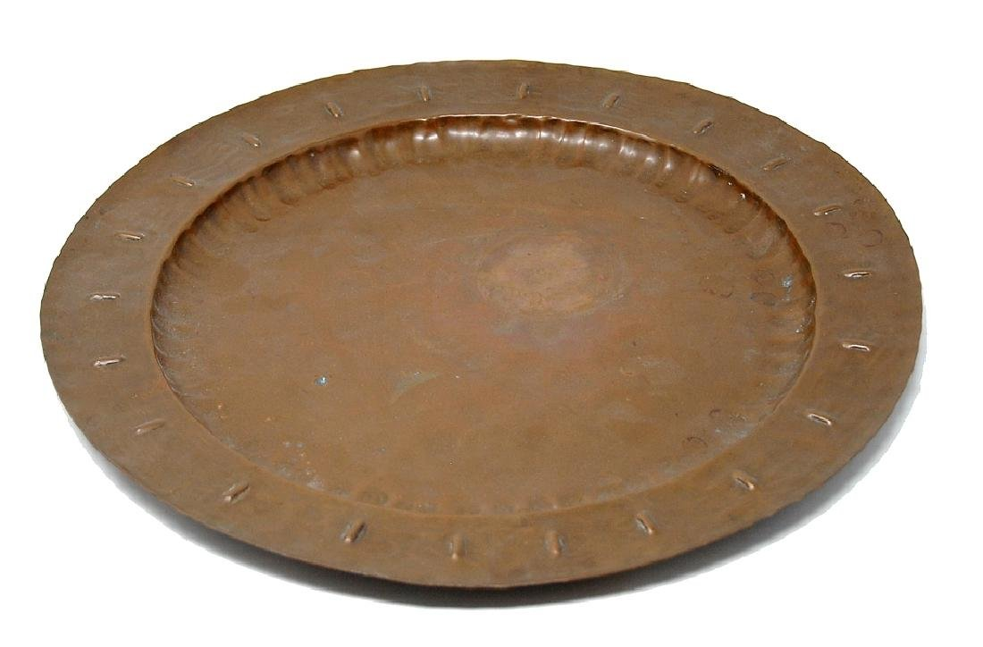 Glander Mission Hand Wrought Copper Tray