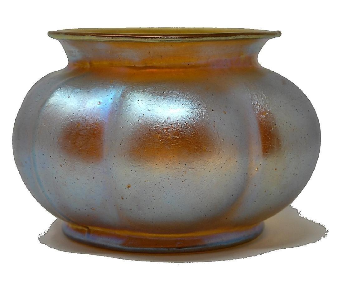 Loetz Iridescent Art Glass Bowl