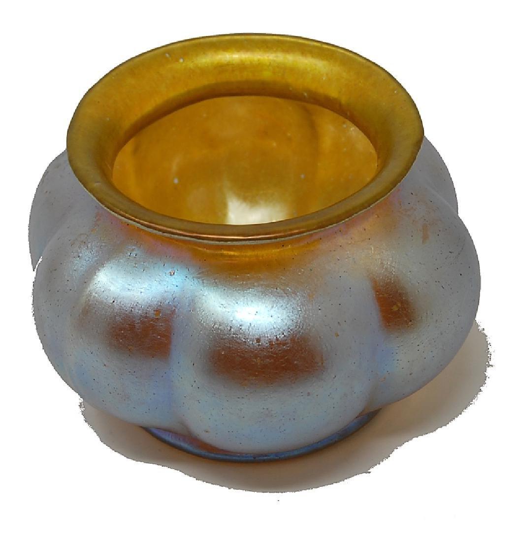 Loetz Iridescent Art Glass Bowl - 2