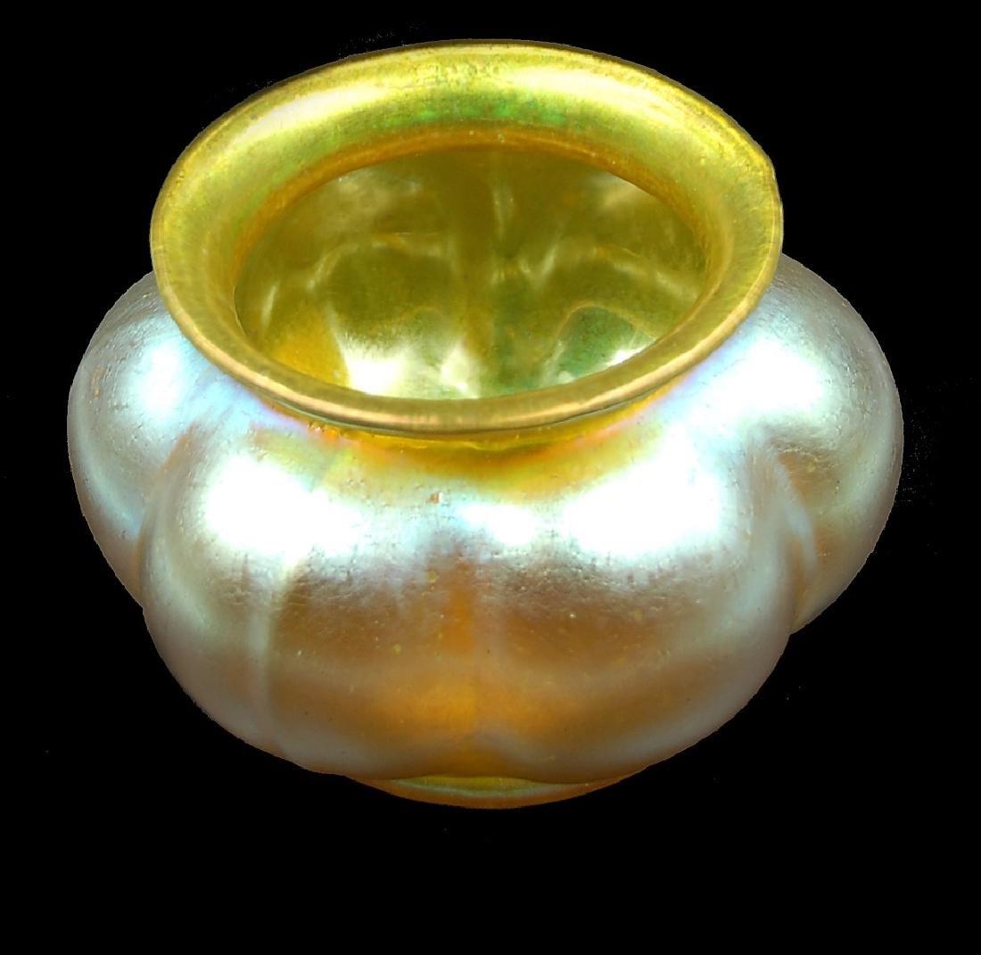 Loetz Iridescent Art Glass Bowl - 3