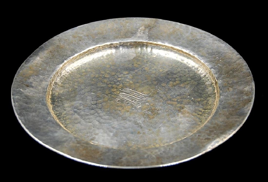 3 Sterling Silver Plates - 10