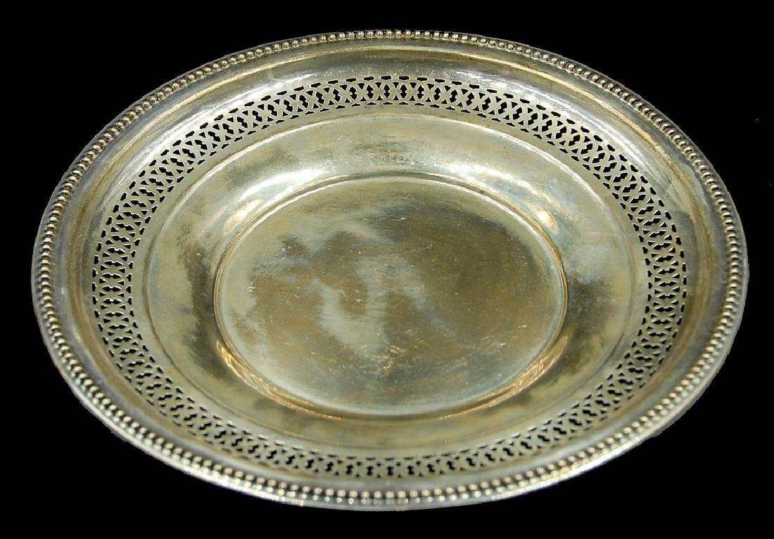 3 Sterling Silver Plates - 4