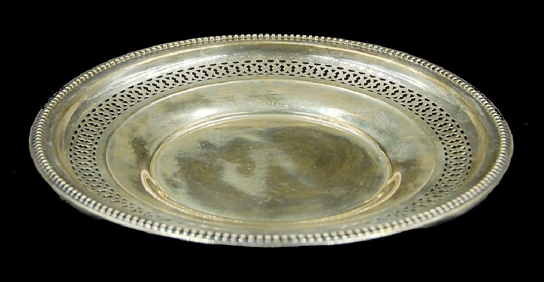 3 Sterling Silver Plates - 5