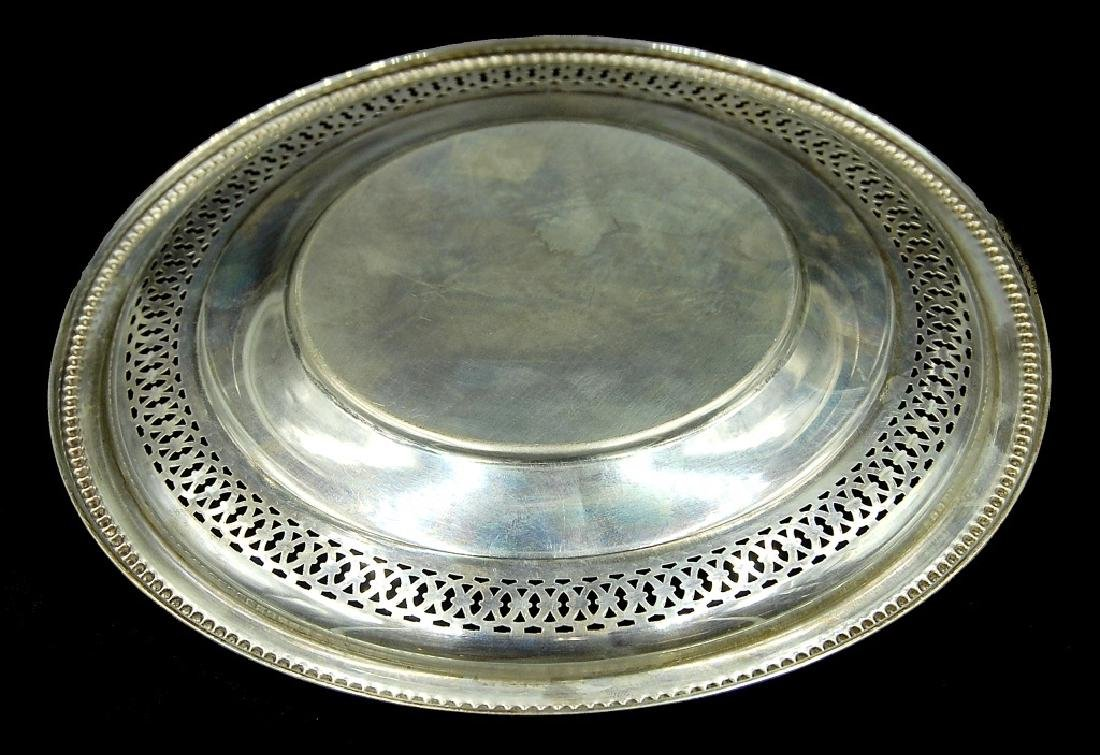 3 Sterling Silver Plates - 6