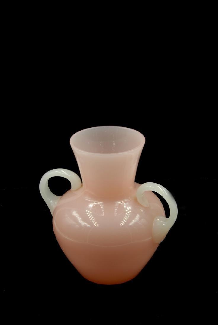 Steuben Rosaline Alabster Vase - 6