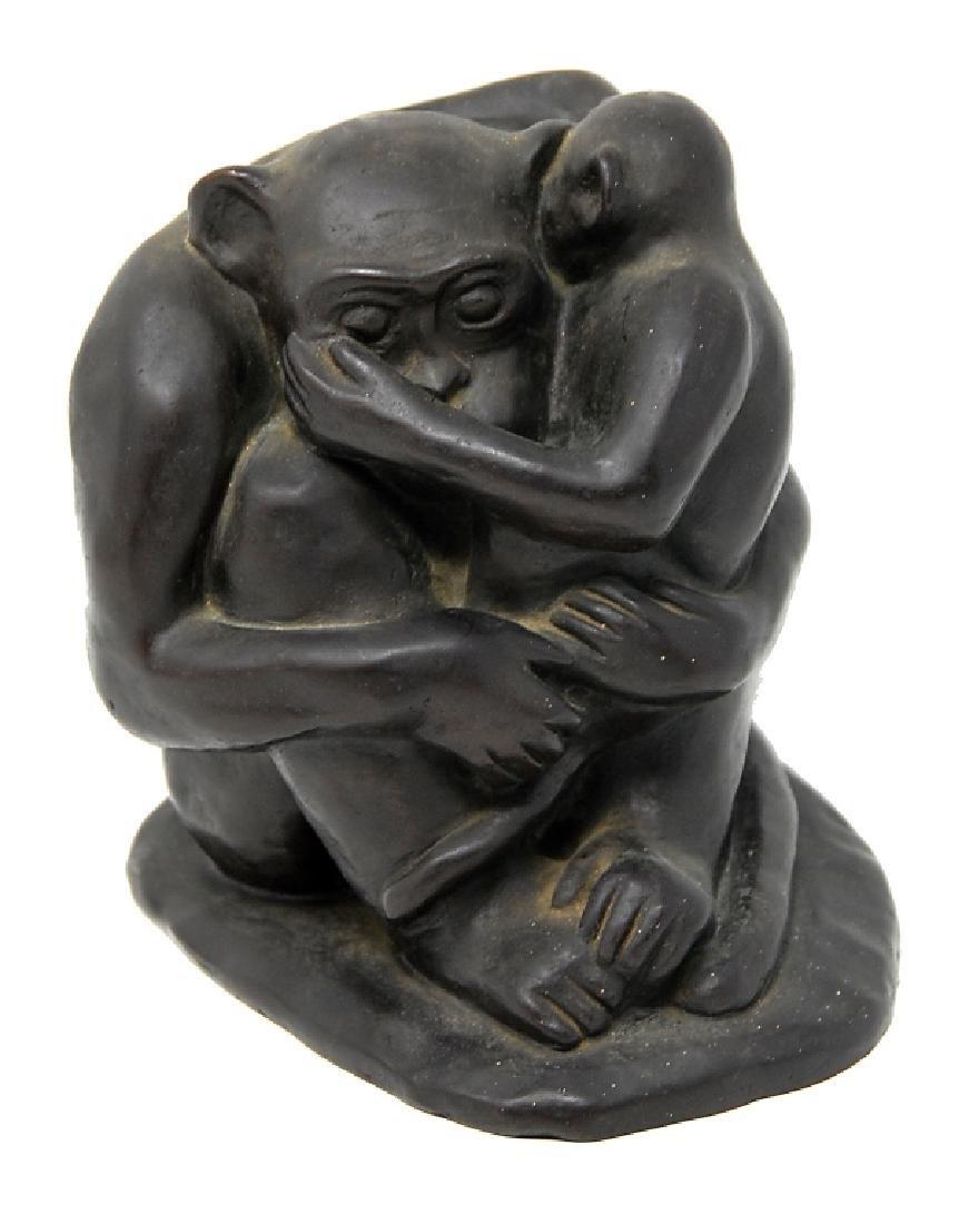 G. Fiumk Bronze Sculpture