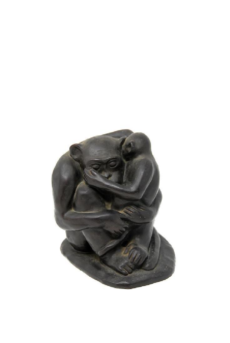 G. Fiumk Bronze Sculpture - 4