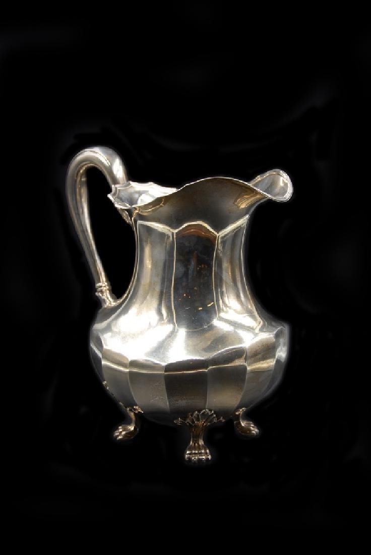 Sterling Silver Water Pitcher