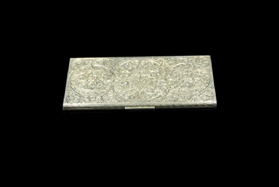 Austrian .800 Silver Cigarette Case