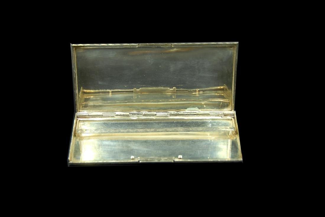 Austrian .800 Silver Cigarette Case - 3