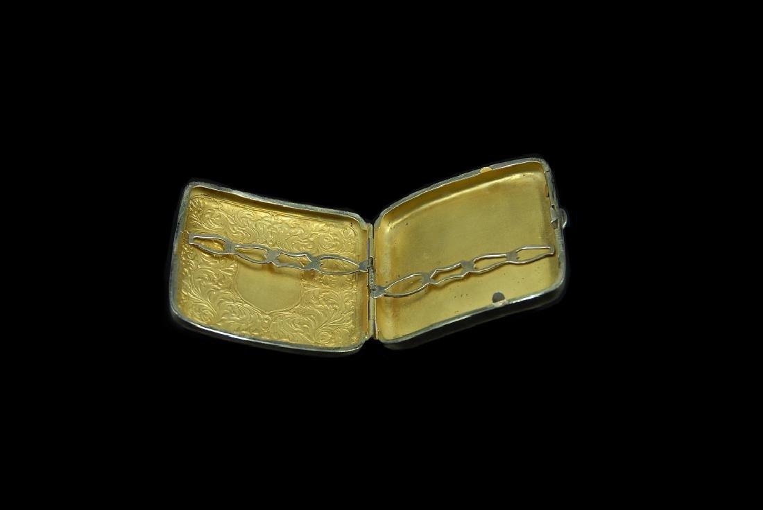 Sterling Silver Cigarette Case - 3