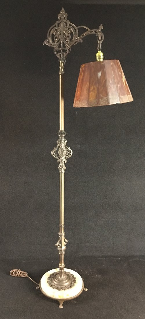 1930 S Onyx And Figural Bronze Floor Lamp Jan 26 2019 Ross