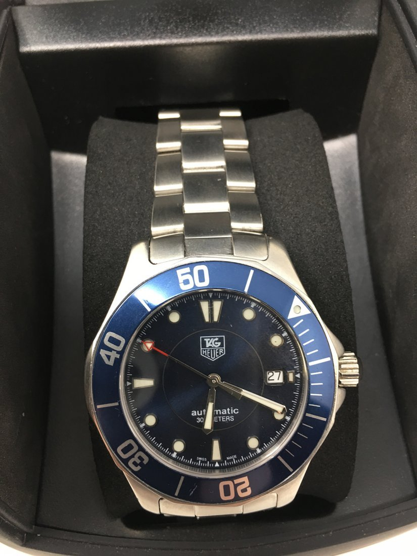 Tag Huer Wristwatch Automatic Blue Dial - 3