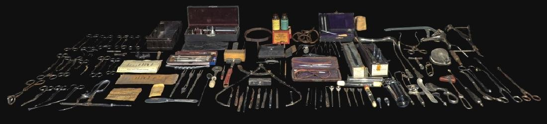 Group Of Dr. Robert Price Vintage Medical Tools
