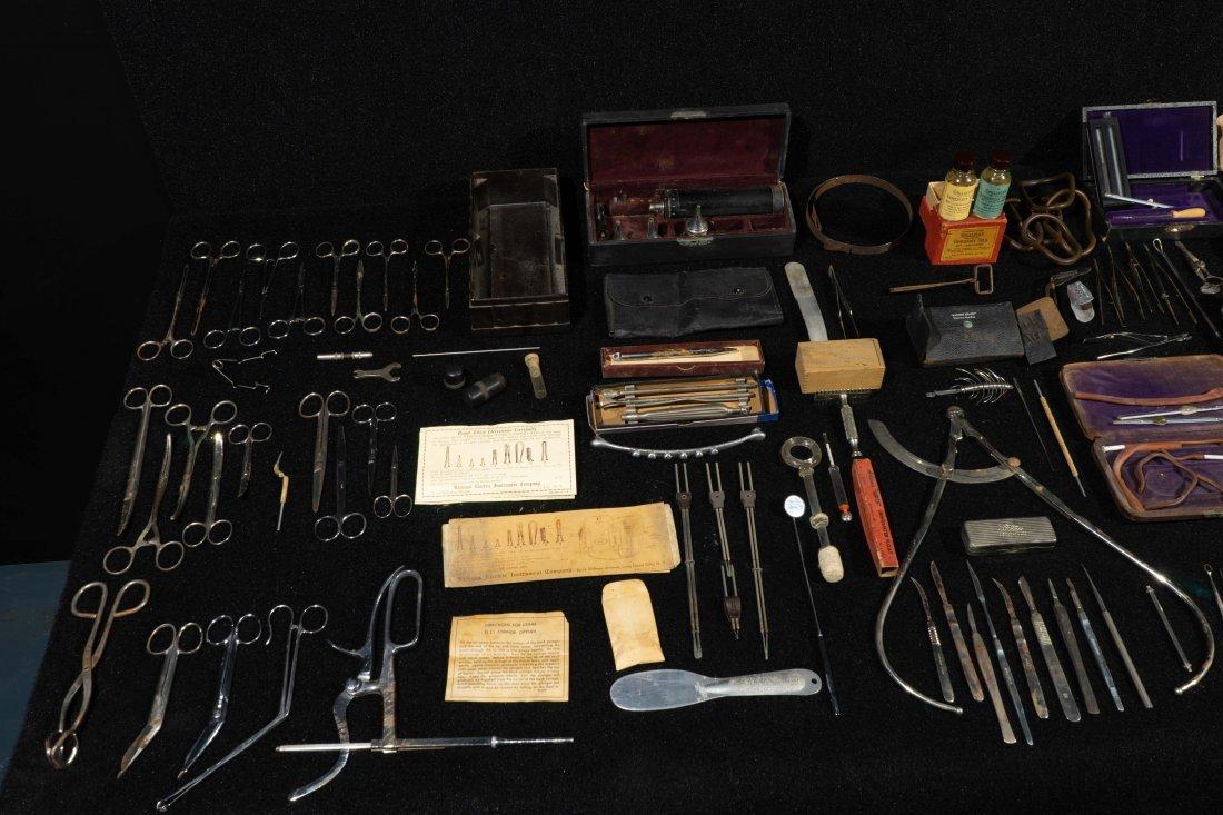 Group Of Dr. Robert Price Vintage Medical Tools - 2