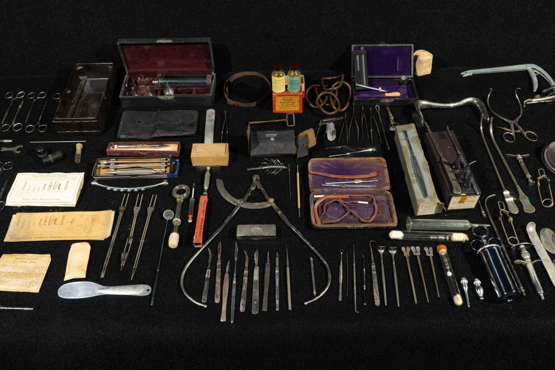 Group Of Dr. Robert Price Vintage Medical Tools - 3