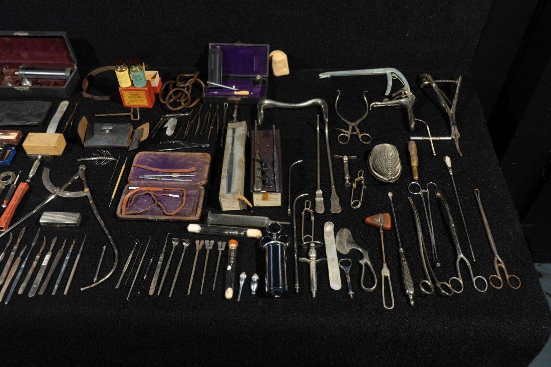 Group Of Dr. Robert Price Vintage Medical Tools - 4